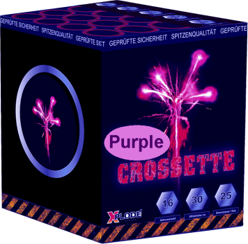 Purple Crossette - XP5249