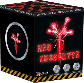 Red Crossette - XP5247