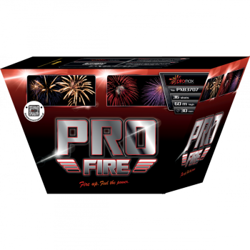 Pro Fire Red- PXB3707